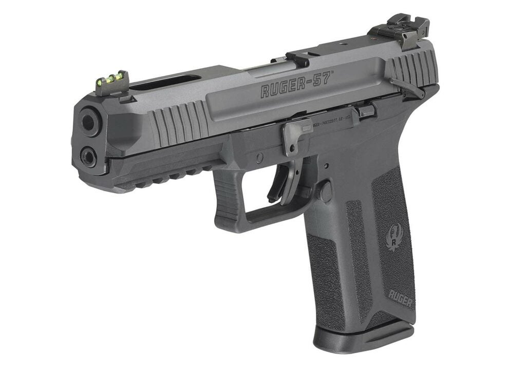 The new Ruger-57 will come with a lockable hard case and two 20-round or 10-round steel magazines.