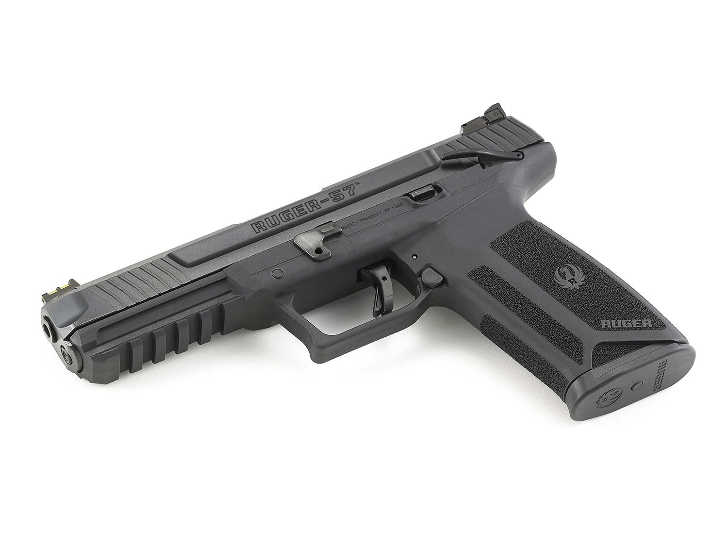 Ruger-57: New Pistol Chambered for Speedy 5.7mm has 20-Round Mag