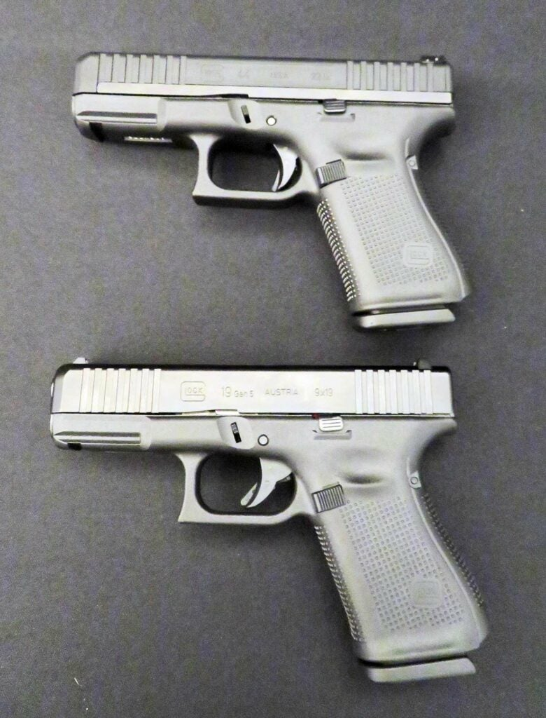 The Glock 44 and G19 Gen5
