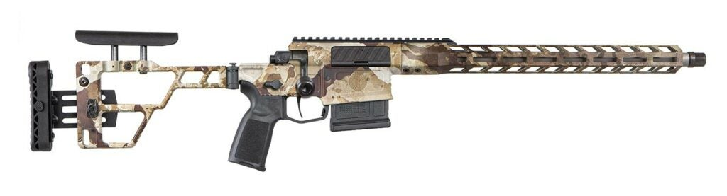 SIG Sauer Cross precision bolt-action hunting rifle.