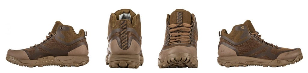 5.11 A.T.L.A.S. mid-height boots.