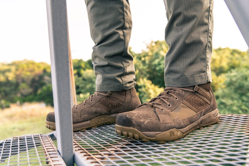 Another shot of the ATLAS work boot in action.