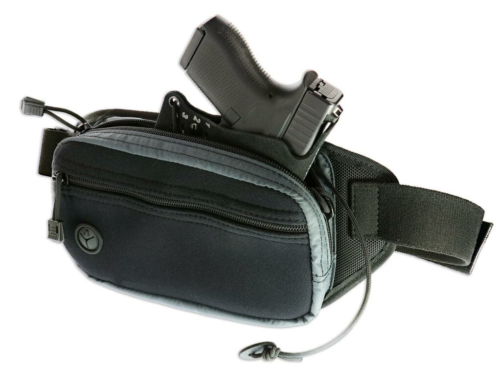 Galco FasTrax PAC Waistpack Action