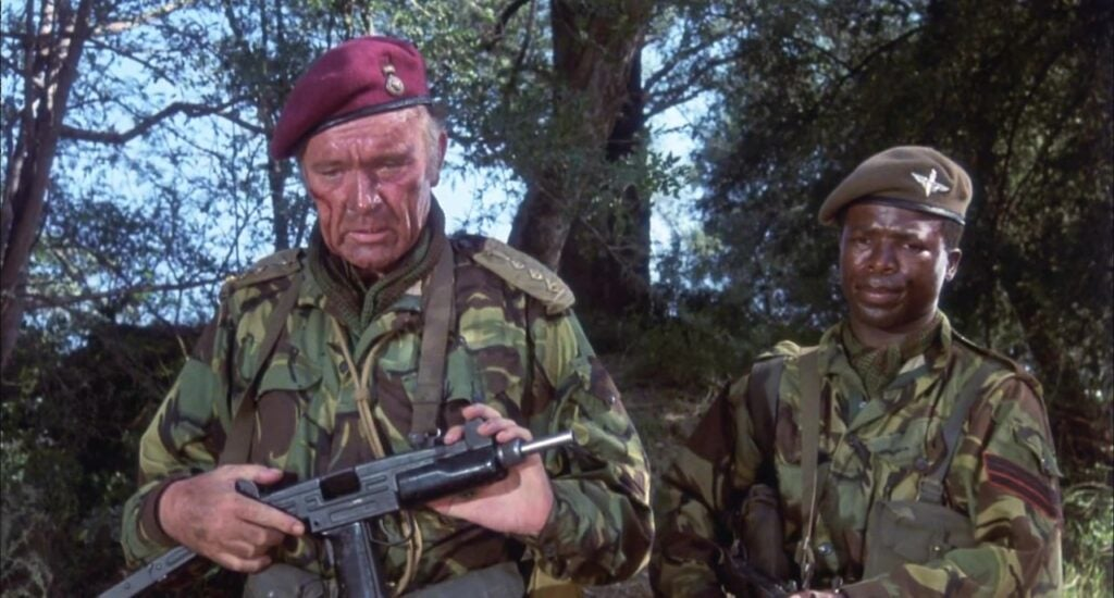 Richard Burton played Col. Allen Faulkner, a character believed to have been based on Hoare, in the 1978 film Wild Geese alongside Roger Moore and Richard Harris.