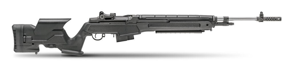 The Springfield M1A Loaded rifle in 6.5 Creedmoor.
