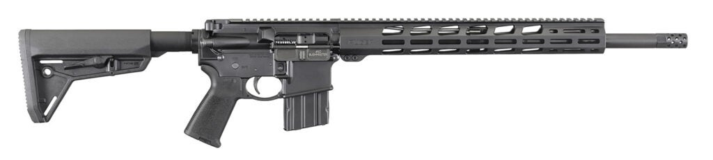 Ruger AR-556 chambered in .450 Bushmaster