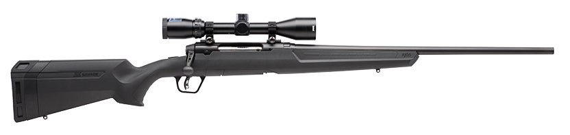 The Savage Axis XP II rifle chambered for the .350 Legend.