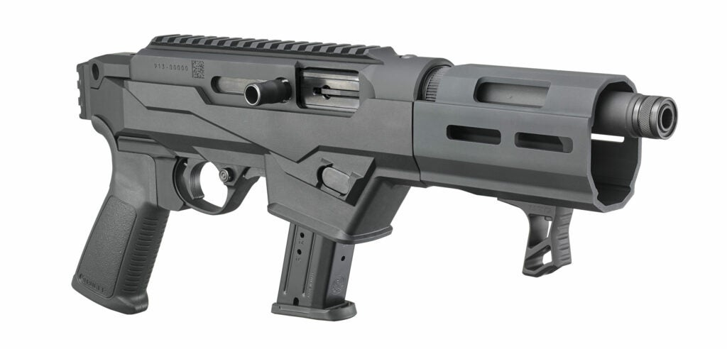 Ruger PC Charger pistol.