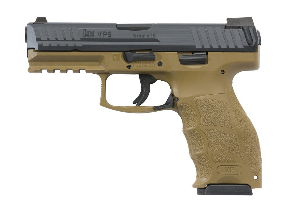 Heckler & Koch VP9 pistol.