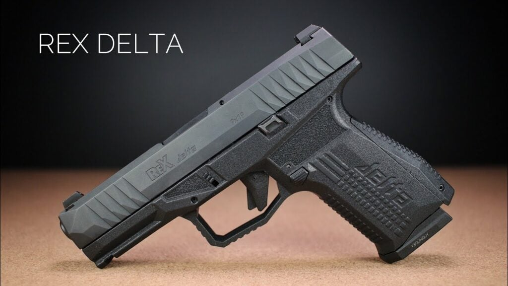 The Arex Rex Delta pistol.