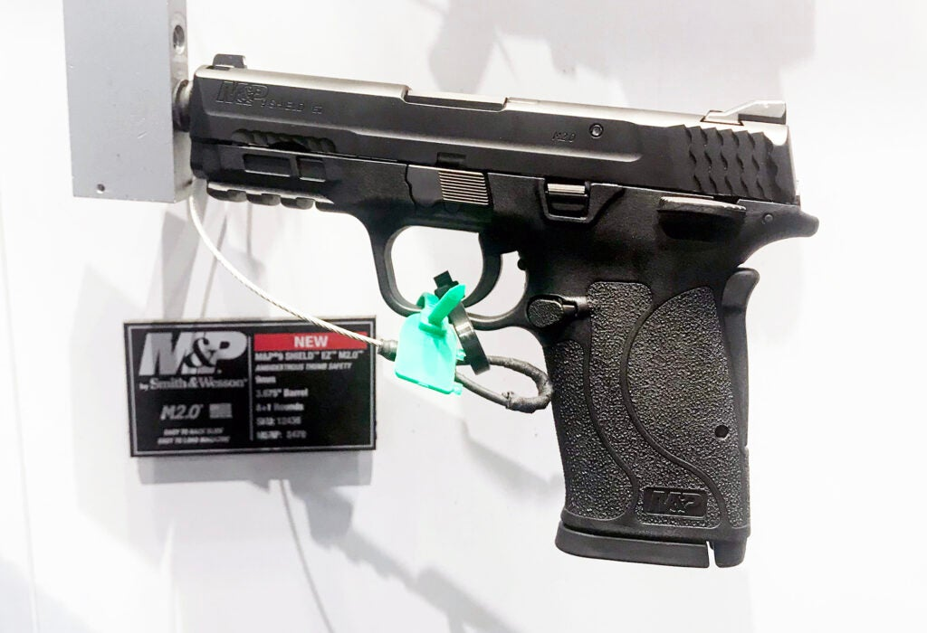 The new Smith & Wesson M&P SHIELD EZ 9mm.