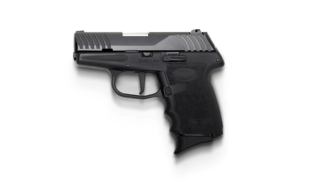 The SCCY DVG-1 pistol.