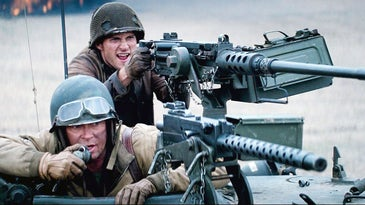 M2 Browning and M1919 Browning in Fury