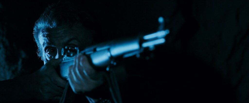 During the tunnel sequence, Rambo briefly uses an M1 Garand.