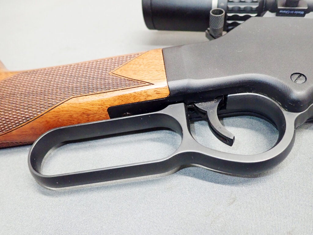 The Henry Long Ranger looks like a typical lever gun on the outside, but it actually has a strong gear-driver action.