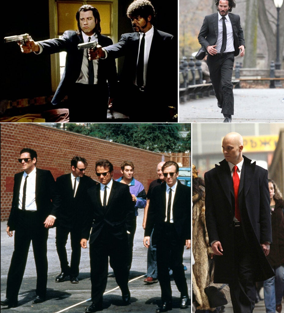 Killers in suits.