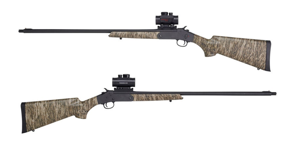 The Stevens 301 XP Turkey shotgun in Bottomlands camo from Savage Arms.