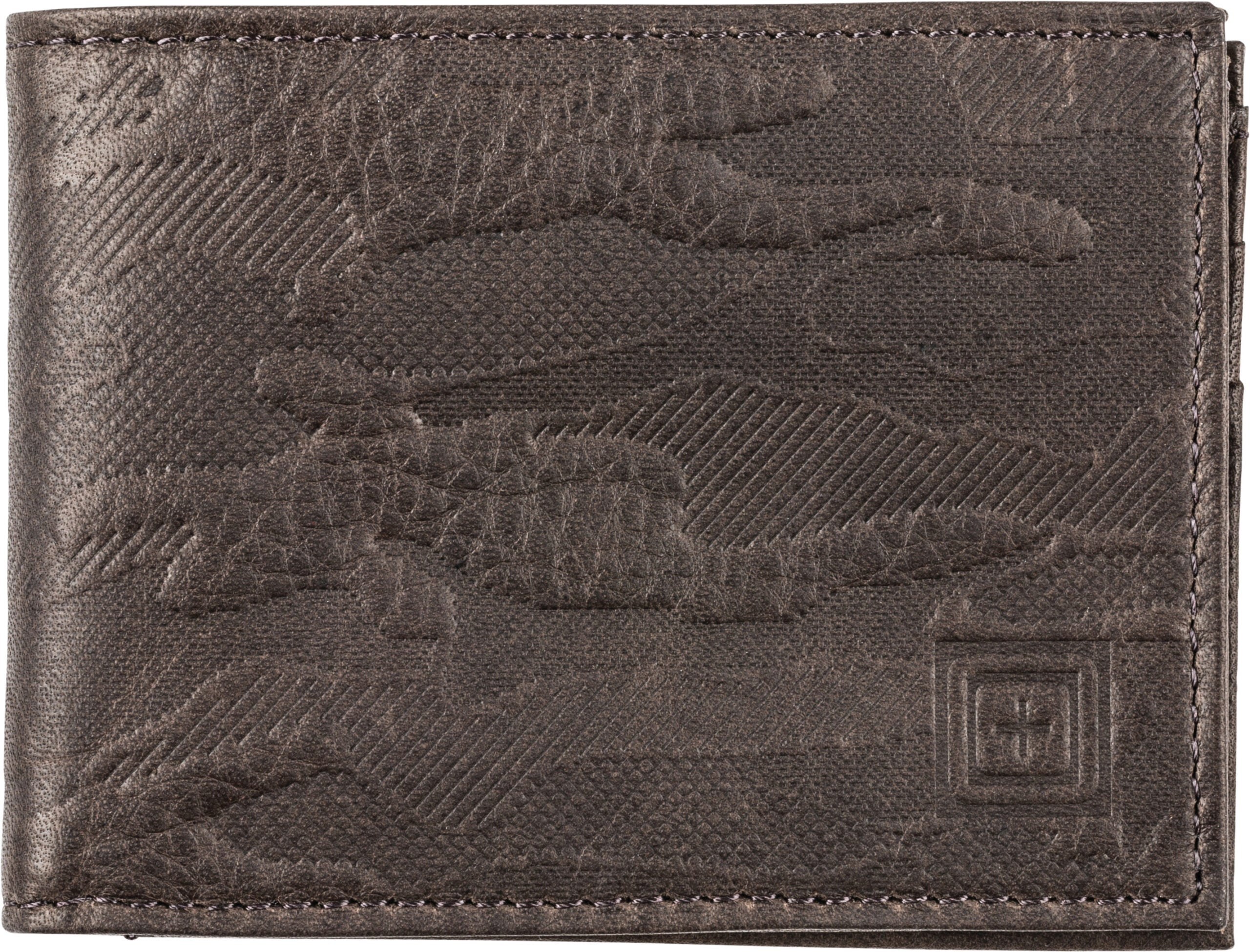 The 5.11 Wheeler Leather Bifold wallet.