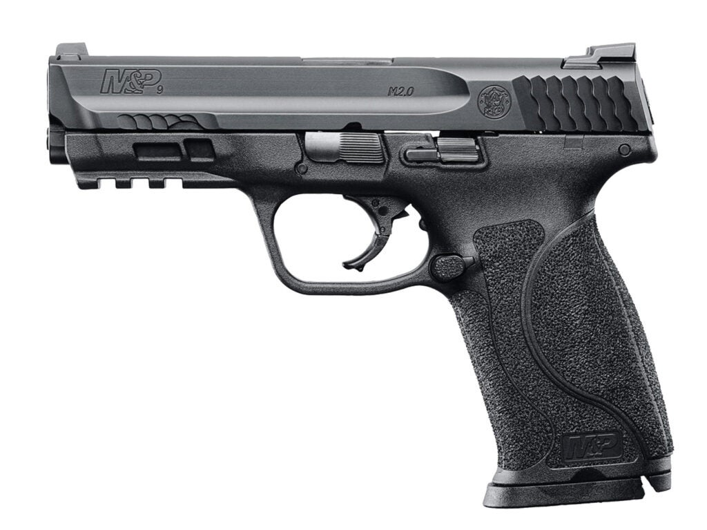 The Smith & Wesson M&P9 2.0 pistol.
