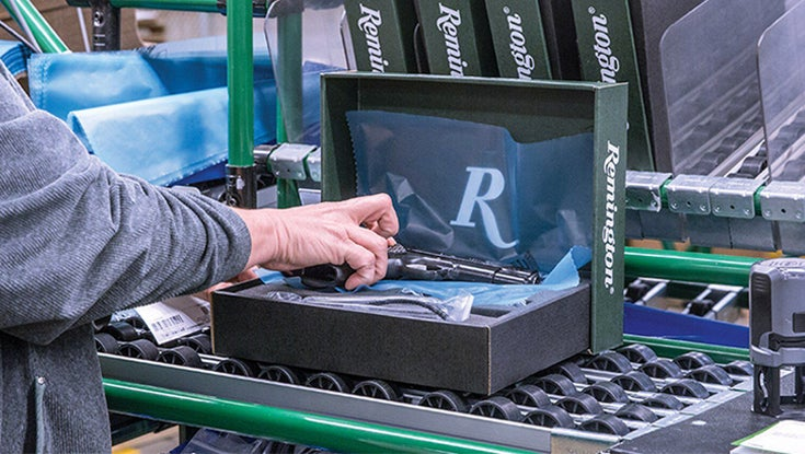 Remington to file for bankruptcy again.