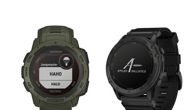 Garmin Releases Tactical Smartwatches with Solar Charging, Applied Ballistics Software