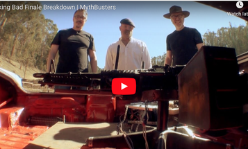 """M60 in a Car Trunk: Recreating a Final Scene from """"Breaking Bad"""""""