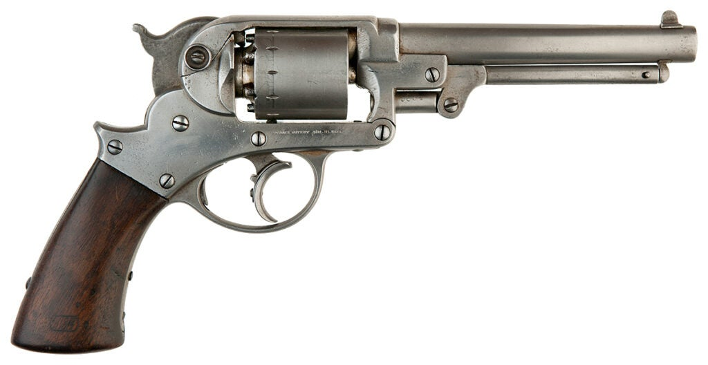 Starr 1858 double-action revolver