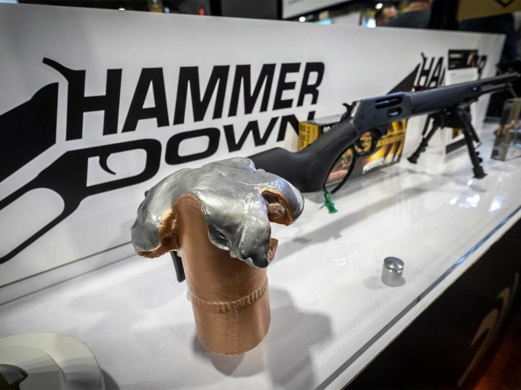 The Hammer Down booth at SHOT Show.
