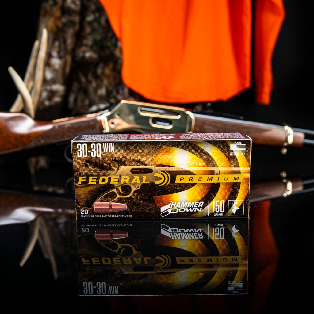Federal's new HammerDown lever-gun optimized ammunition is available in .30-30 Win, .44 Rem Mag, .357 mag