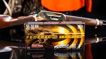 Federal's new line of HammerDown ammunition is optimized for use with modern lever-action rifles and carbines.