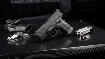 The Springfield Armory XD-M Elite 3.8″ Compact pistol.