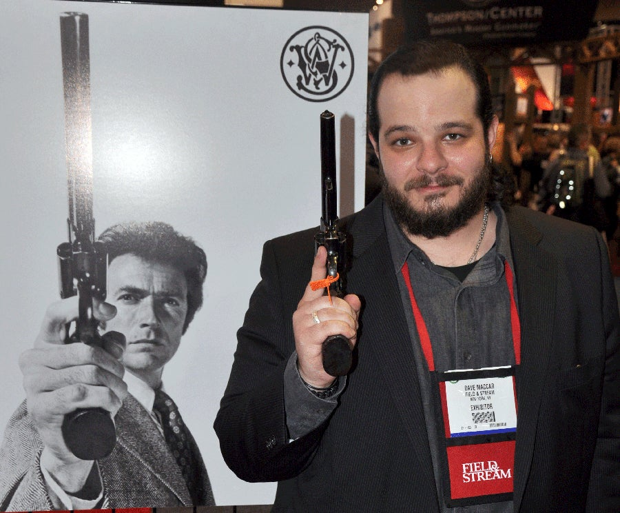 the actual S&W Model 29 used on-screen by Clint Eastwood in Magnum Force