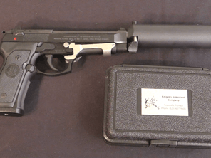 The Air Force's Suppressed M9 Pistol from the '80s